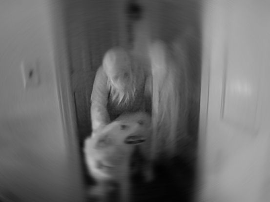 A ghost and her playful spectral dog coming to a haunting near you!